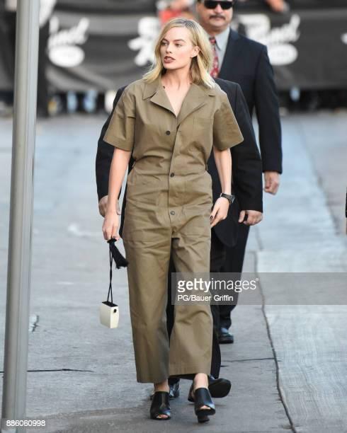 Margot Robbie is seen on December 04 2017 in Los Angeles California