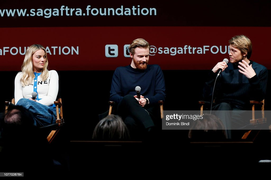 SAG-AFTRA Foundation Conversations: 'Mary Queen Of Scots' : News Photo