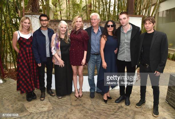 Margot Robbie Kumail Nanjiani Lois Smith Diane Kruger Richard Gere Salma Hayek Robert Pattinson and Sean Baker attend 'Indie Contenders Roundtable'...