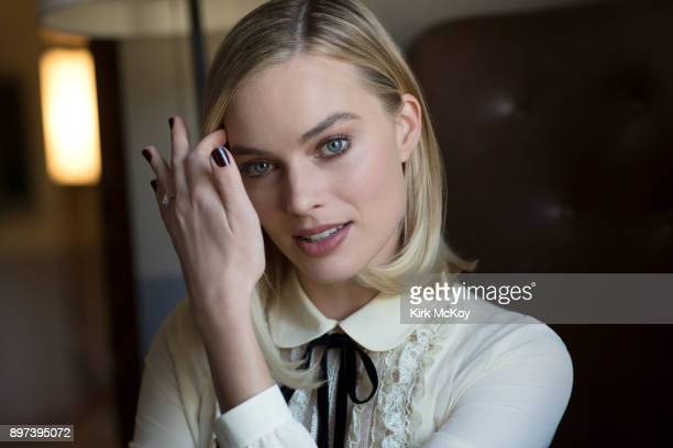 Margot Robbie of 'I Tonya' is photographed for Los Angeles Times on December 5 2017 in Los Angeles California PUBLISHED IMAGE CREDIT MUST READ Kirk...