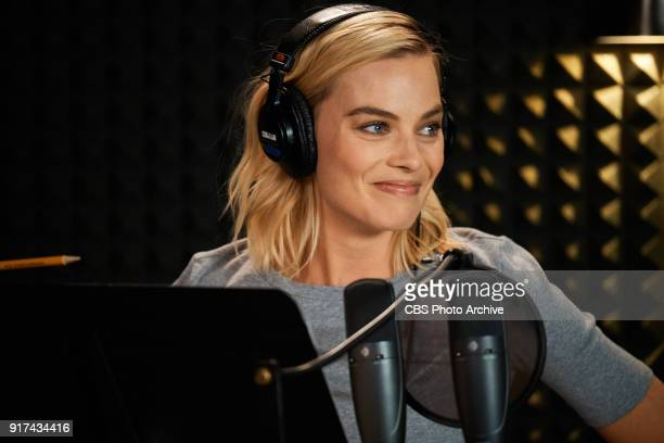 Margot Robbie performs in a sketch with James Corden during The Late Late Show with James Corden Monday February 5 2018 On The CBS Television Network