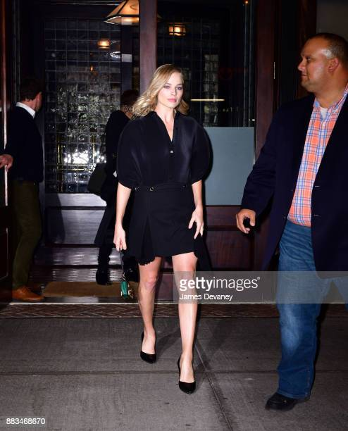 Margot Robbie seen on the streets of Manhattan on November 30 2017 in New York City