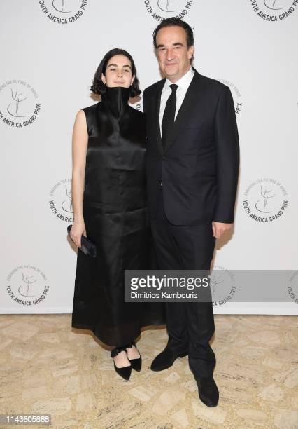 Margot Sarkozy and Olivier Sarkozy attend the Youth America Grand Prix's 20th Anniversary Gala at David H Koch Theater Lincoln Center on April 18...