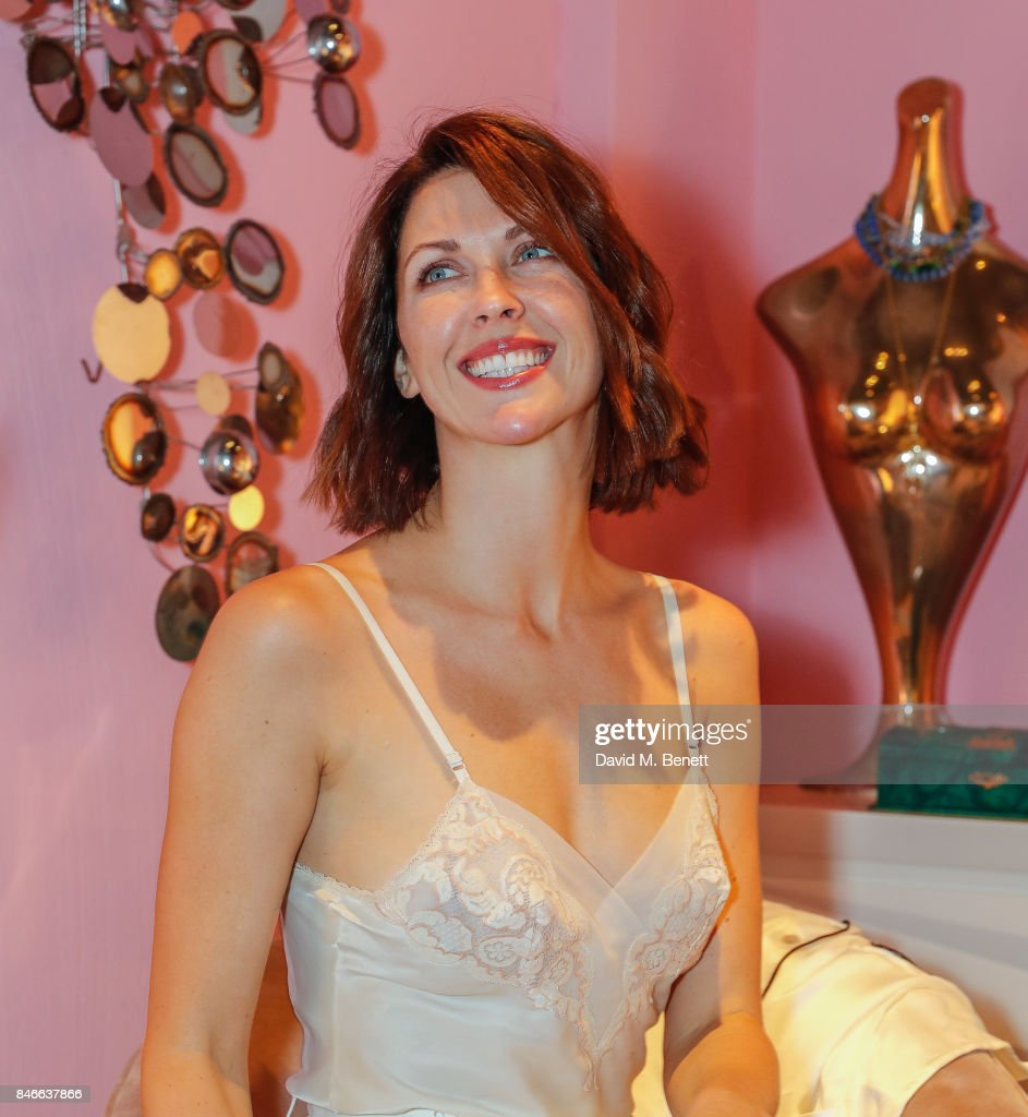 Margot Stilly attend the 'Designed At Talisman' designer exhibition during the London Design Festival 2017 at Talisman, New Kings Road, on September 13, 2017 in London, England.