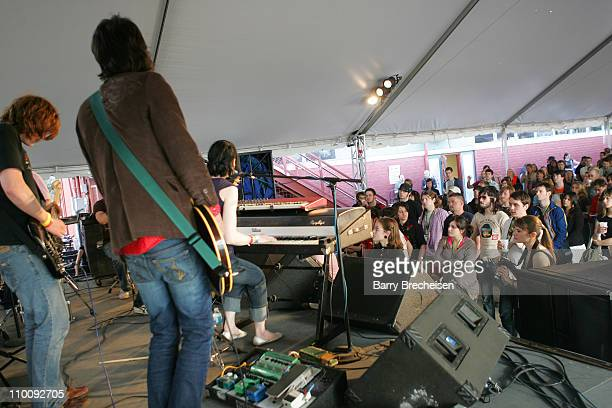 Margot The Nuclear So So's during 21st Annual SXSW Film and Music Festival Jane Magazine House at 401 Guadalupe St in Austin Texas United States