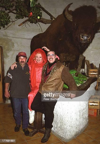 Margot Werner Ehemann Jochen Litt HansJürgen Posch Hotel Berwanger Hof Berwangen Tirol sterreich Europa Europa Schnee Winter BisonSchauspielerin...