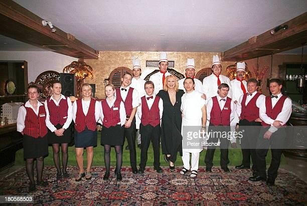 Margot Werner Homestory Berwangen/Tiroler Alpen HotelBerwanger Hof ServicePersonal KöcheKellner