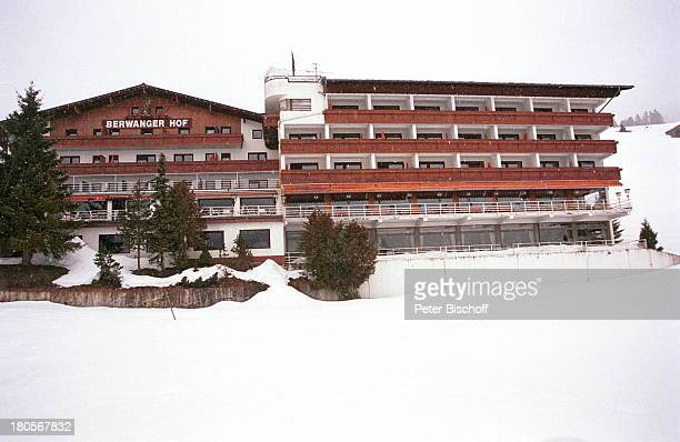 Margot Werner Homestory Berwangen/TirolerAlpen Hotel Berwanger HofWinterlandschaft Schnee