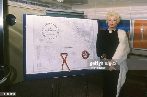 Margot Werner Kreuzfahrt von Vancouver nach Anchorage 'MS Europa' Alaska USA Nordamerika 10 Hochzeitstag Kreuzfahrtschiff Schiff Kette Halskette...