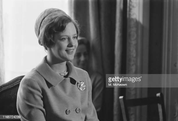 Margrethe II of Denmark Queen of Denmark UK 2nd May 1965