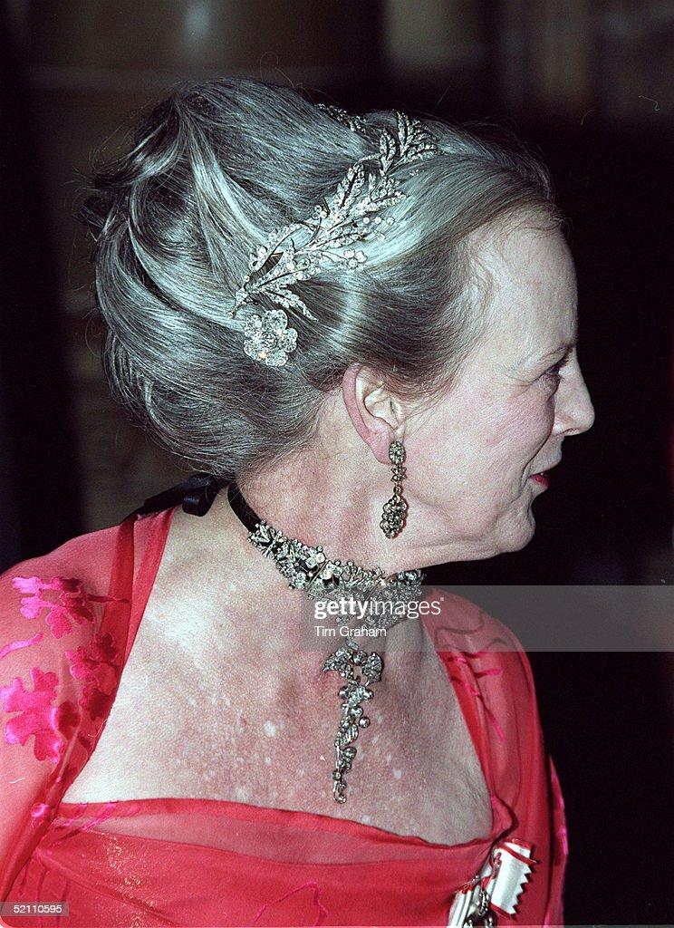 Queen Margrethe Of Denmark : News Photo