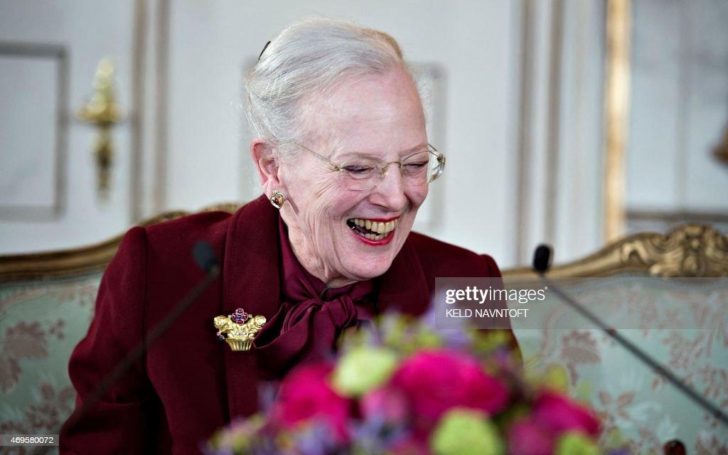 DENMARK-ROYALS-MARGRETHE-BIRTHDAY : News Photo