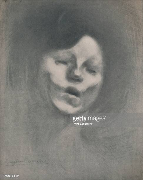 Marguerite Carriere' From The Etchings of the French Impressionists and Their Contemporaries by Edward T Chase [The Hyperion Press Paris 1946] Artist...