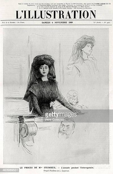 Marguerite Steinheil on trial cover of L'Illustration' 6 November 1909 Marguerite Steinheil became famous for her connection with the death in 1899...