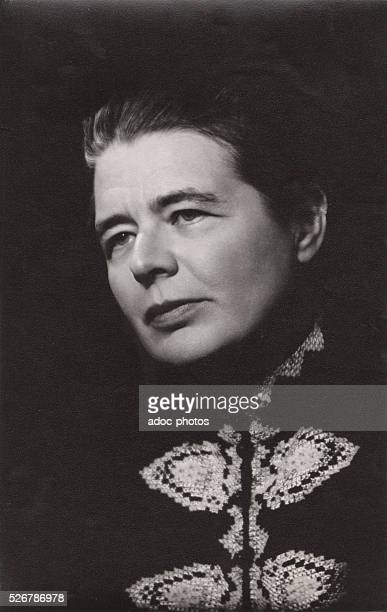 Marguerite Yourcenar Belgianborn French novelist and essayist born in Brussels Ca 1960