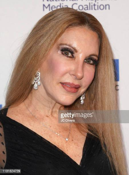 Mari Allende attends the 22nd Annual National Hispanic Media Coalition Impact Awards Gala at Regent Beverly Wilshire Hotel on February 22 2019 in...