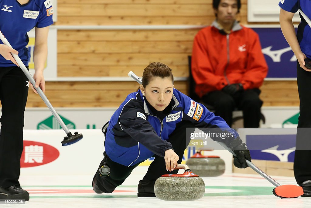 Curling Japan Qualifying Tournament - Day One : ニュース写真