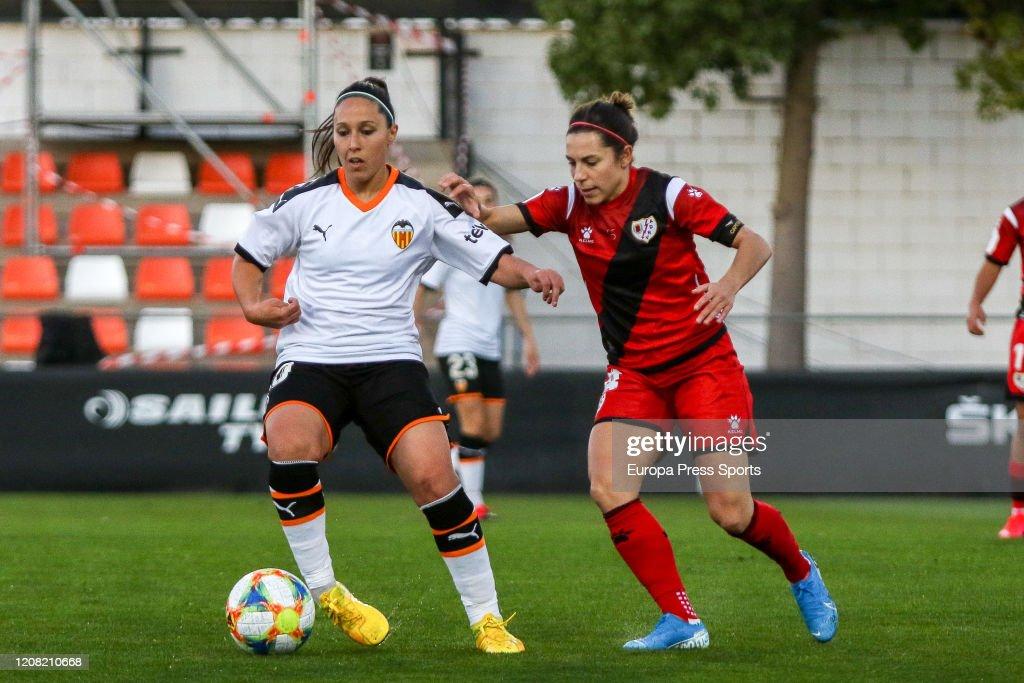 Primera Iberdrola: Valencia CF V Rayo Vallecano : News Photo