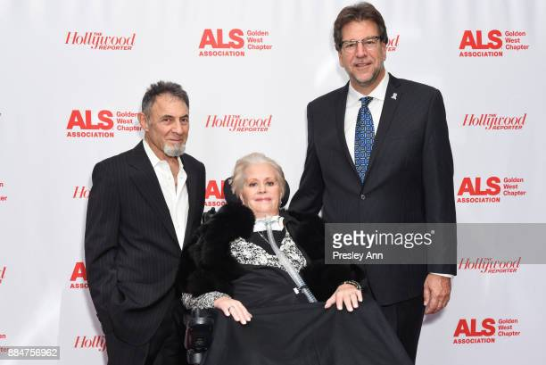 Mari Winsor and Fred Fisher attend ALS Golden West Chapter Hosts Champions For Care And A Cure at The Fairmont Miramar Hotel Bungalows on December 2...