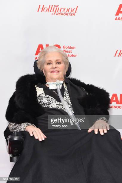 Mari Winsor attends ALS Golden West Chapter Hosts Champions For Care And A Cure at The Fairmont Miramar Hotel Bungalows on December 2 2017 in Santa...