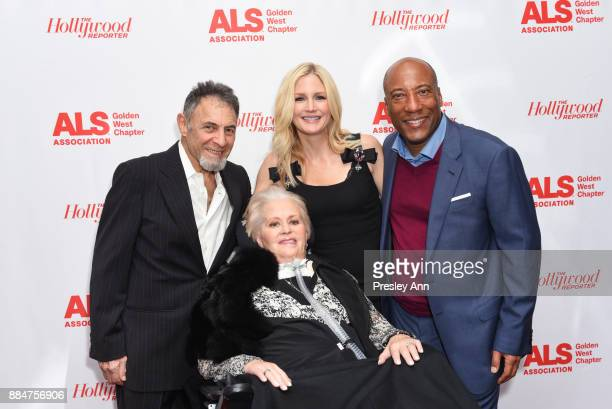 Mari Winsor Jennifer Lucas and Bryon Allen attend ALS Golden West Chapter Hosts Champions For Care And A Cure at The Fairmont Miramar Hotel Bungalows...