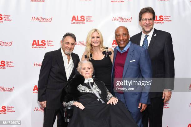Mari Winsor Jennifer Lucas Bryon Allen and Fred Fisher attend ALS Golden West Chapter Hosts Champions For Care And A Cure at The Fairmont Miramar...