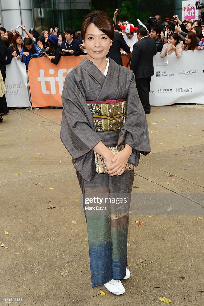 Mari Yamazaki attends the 'Thermae Romae' premiere during the 2012 Toronto International Film Festival at Roy Thomson Hall on September 8, 2012 in Toronto, Canada.