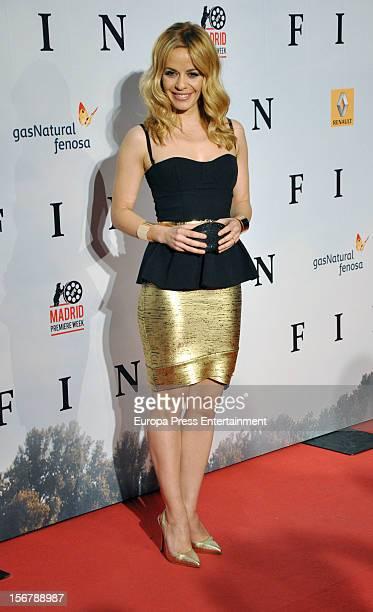 Maria Adanez attends 'Fin' premiere on November 20 2012 in Madrid Spain
