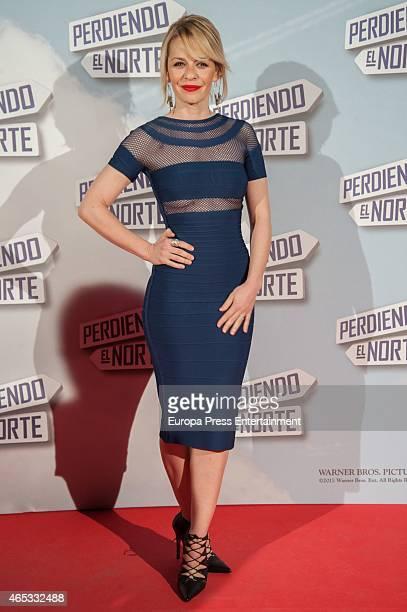 Maria Adanez attends 'Perdiendo El Norte' Madrid premiere on March 5 2015 in Madrid Spain