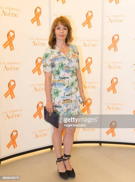 Maria Adanez attends Skin Cancer Prevention European Day campaign by Avene on June 13 2017 in Madrid Spain