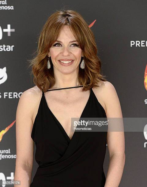 Maria Adanez attends the 2016 Feroz Awards ceremony at the Palacete de los Duques de Pastrana on January 23 2017 in Madrid Spain