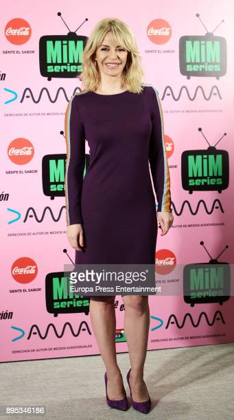 Maria Adanez attends the 2017 MIM Series Awards at the ME Hotel on December 18 2017 in Madrid Spain