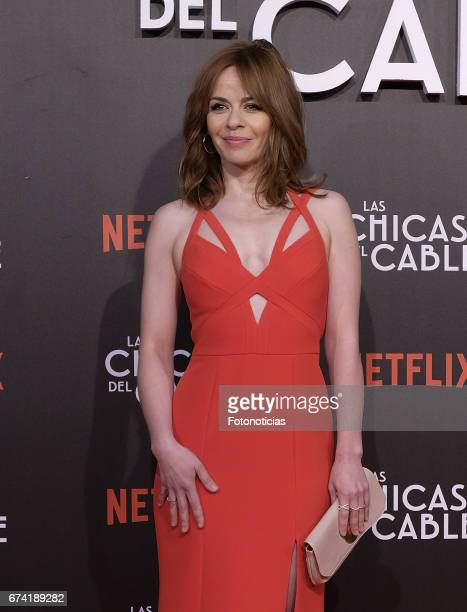 Maria Adanez attends the 'Las Chicas del Cable' Netflix Tv Series premiere at Callao Cinema on April 27 2017 in Madrid Spain