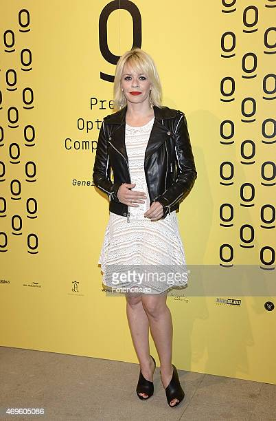 Maria Adanez attends the 'Optimistas Comprometidos' Awards at the COAM on April 13 2015 in Madrid Spain