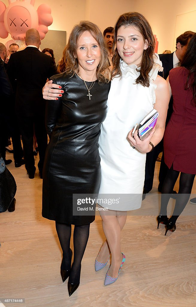 Launch Party For Phillips European Headquarters At 30 Berkeley Square : News Photo