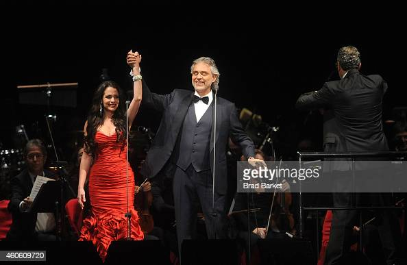 Maria Aleida And Andrea Bocelli Perform At Madison Square Garden On Nieuwsfoto 39 S Getty Images