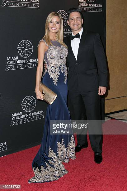 Maria Alejandra Chaban and Alejandro Chaban attend Miami Childrens Health Foundations Diamond Ball on October 10 2015 in Miami United States