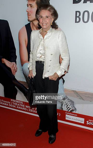 Maria Aline Griffith Dexter attends 'Enfrentados' premiere photocall at Amaya theatre on September 16 2014 in Madrid Spain