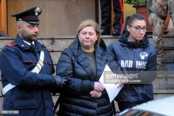 Maria Angela Di Trapani a female mobster suspected of being the mastermind behind a reshuffle of the Sicilian Mafia following the death of 'boss of...