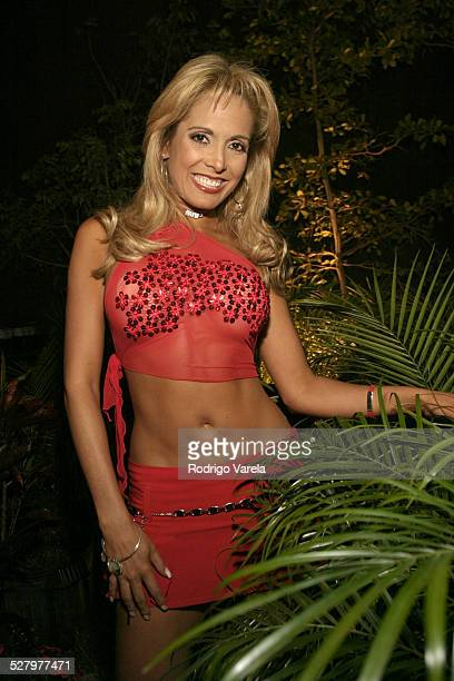Maria Antonieta Duque during Angel Rebelde Telenovela/Soap Opera Photocall at Fono Video Studios in Miami Florida United States