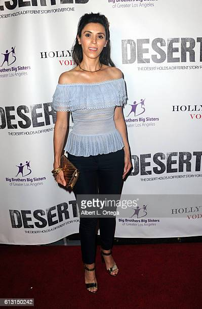 Maria Barquette arrives for the Premiere Of Winterstone Pictures' 'Deserted' held at Majestic Crest Theatre on October 6 2016 in Los Angeles...