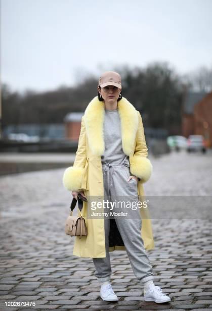 Maria Barteczko before Mykke Hofmann on January 28, 2020 in Copenhagen, Denmark.
