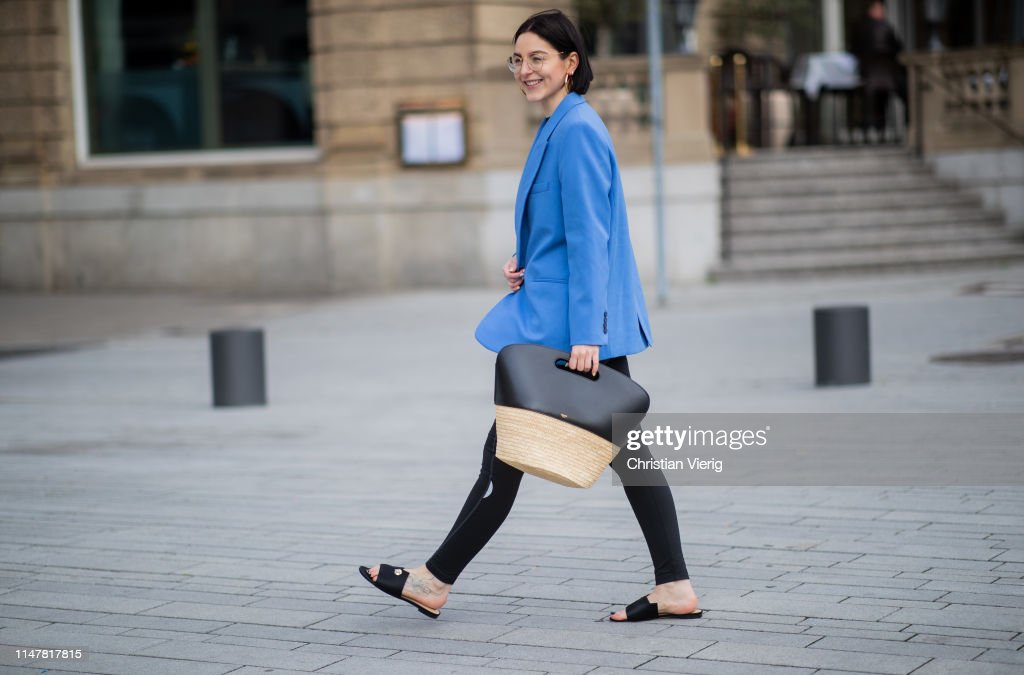 Street Style - Duesseldorf - May 05, 2019 : News Photo