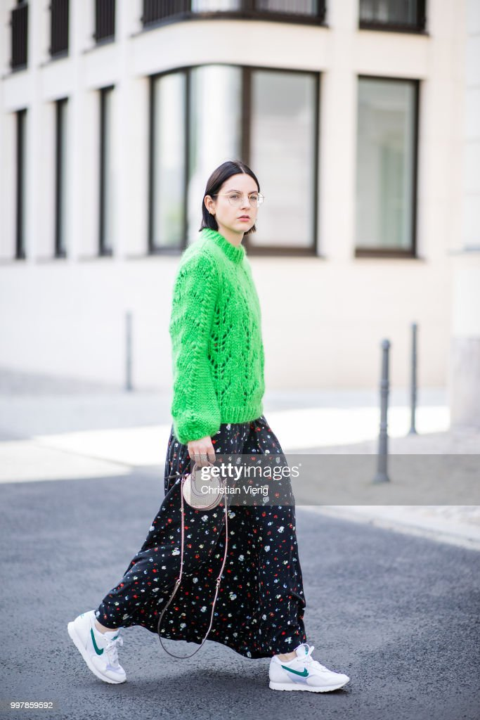 Street Style - Berlin - July 13, 2018 : News Photo