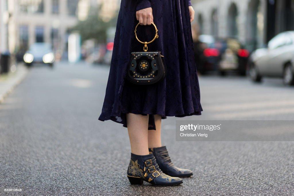 Street Style - Berlin - August 17, 2017 : News Photo