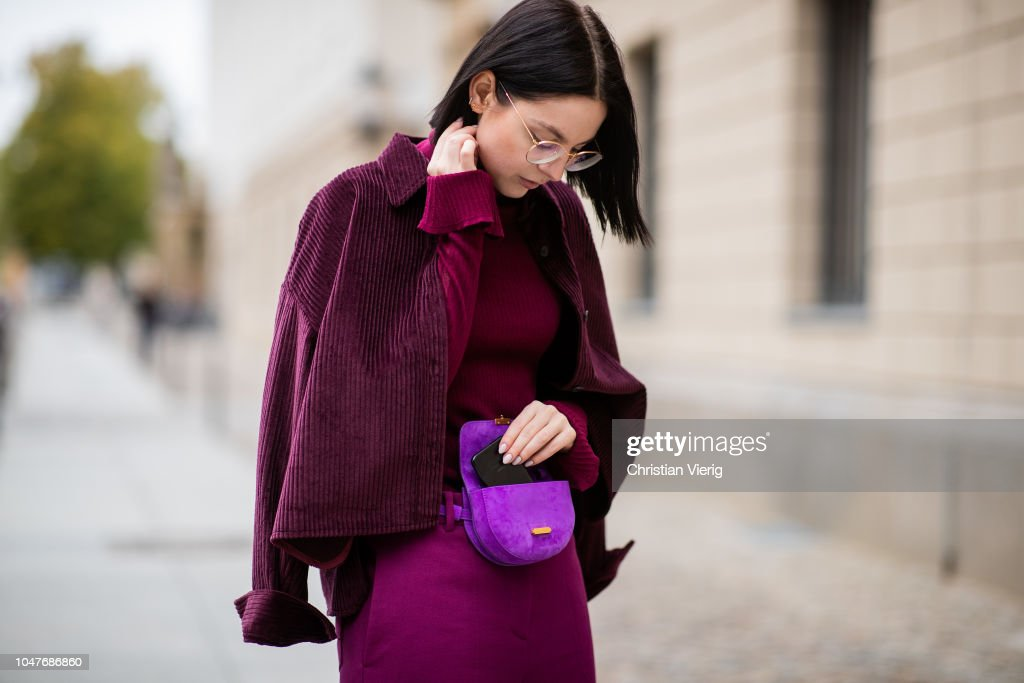 Street Style - Berlin - October 8, 2018 : News Photo