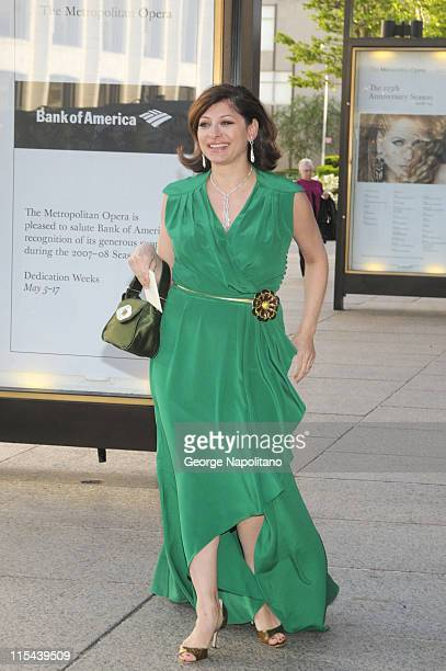 Maria Bartiromo arrives at the American Ballet Theatre's Opening Night Spring Gala on May 19 2008 at the Metropolitan Opera House in New York City