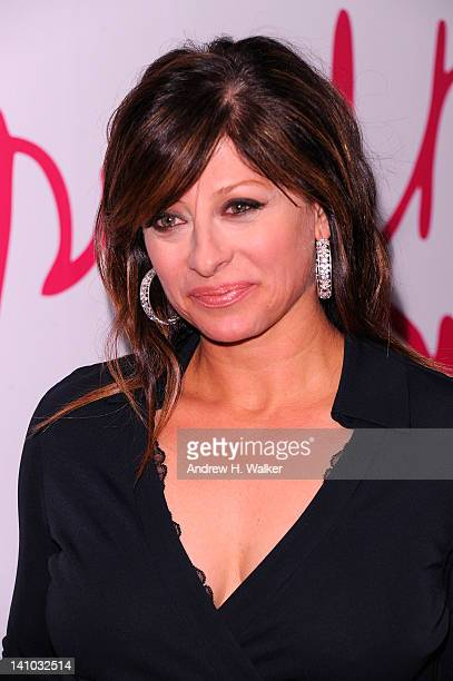 Maria Bartiromo attends the 3rd annual Diane Von Furstenberg awards at the United Nations on March 9 2012 in New York City