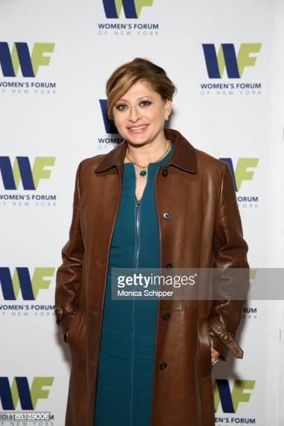 Maria Bartiromo attends the Women's Forum Of New York Breakfast Of Corporate Champions on November 07 2019 in New York City