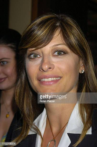 Maria Bartiromo during Newsweek Party for The Republican Convention Given by Lally Weymouth at The Four Seasons Restaurant in New York New York...